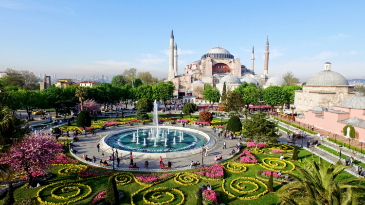 One of the 23,000 different connections are available through Nice is Istanbul — Shutterstock Nice airport
