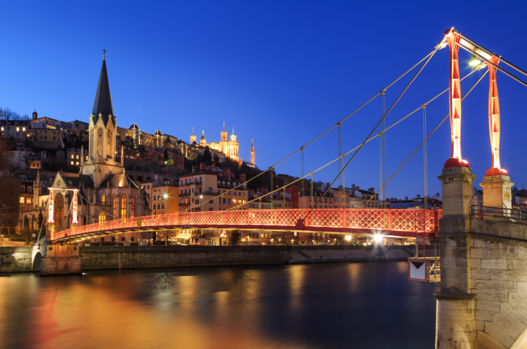 Lyon boasts exceptionally good connectivity with its catchment area — Shutterstock