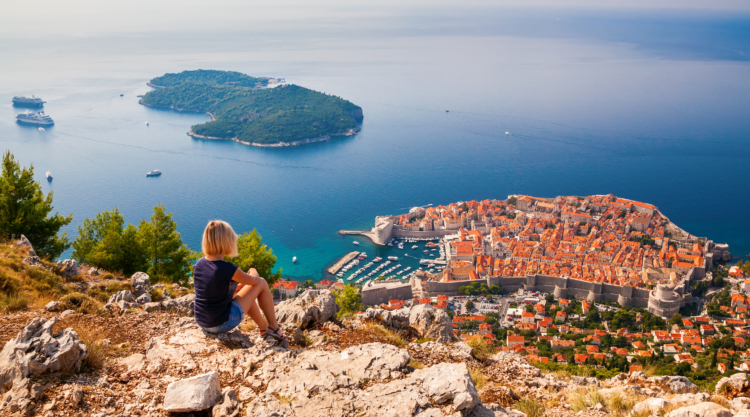 Dubrovnik is one of the 131 destinations available from Lyon — Shutterstock Lyon airport