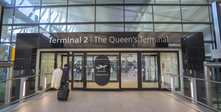 4kclips / Shutterstock Heathrow airport