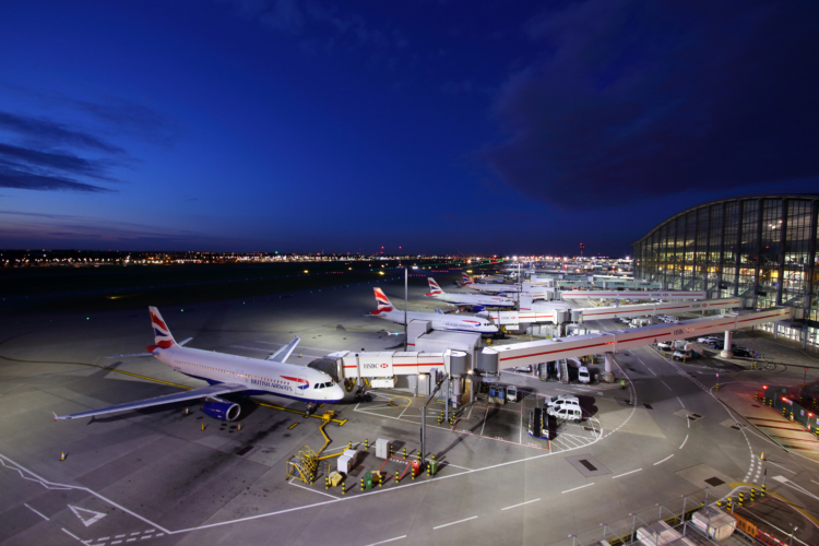 British Airways say that they do not expect operations to be affected — Fasttailwind / Shutterstock Heathrow airport